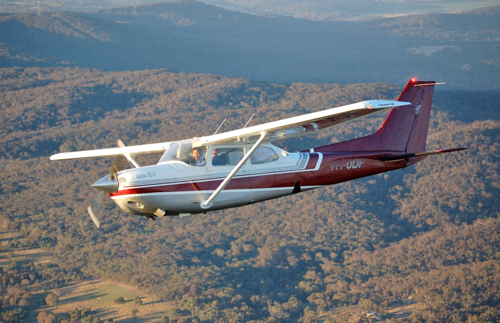 Goulburn flight training learn fly canberra sydney nsw